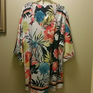 NWT Tropical print tunic